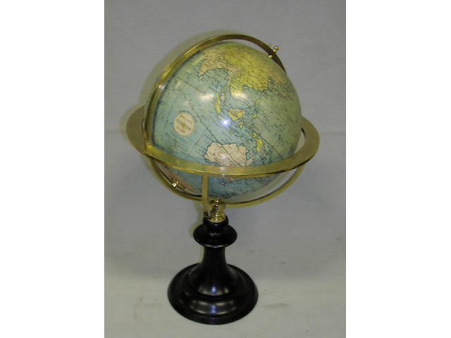 An 8ins Bacon Excelsior Terrestrial Table Globe,