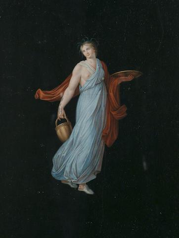 Manner of Michaelangelo Maestri, The Graces, 12 1/4 x 9 5/8 in (31 x 24.5 cm), (6).
