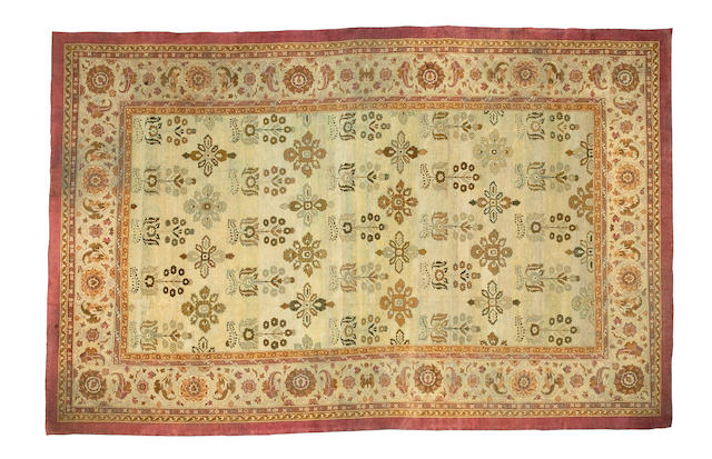 An Amritsar carpet North India, 16 ft x 10 ft 3 in (487 x 312 cm)