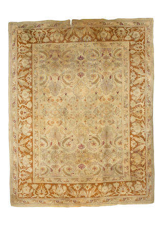 An Amritsar carpet North India, 12 ft 5 in x 9 ft 9 in (379 x 297 cm)