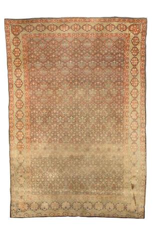 A Marbadiah rug Jerusalem, 8 ft 2 in x 5 ft 8 in (251 x 173 cm)
