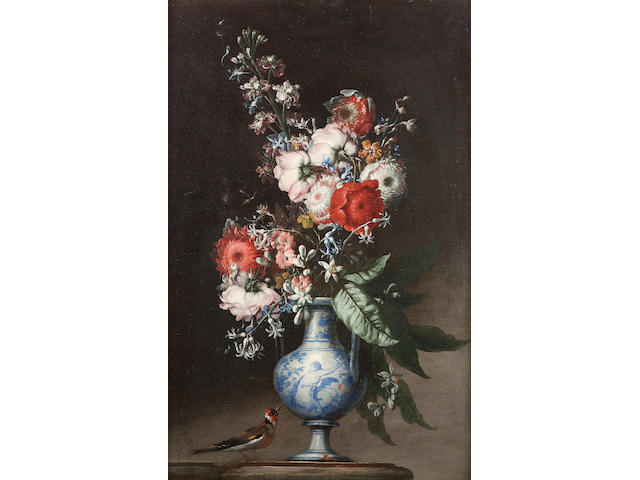 Circle of Gaspar Lopez, called Gaspare dei Fiori (Naples (?)- circa 1732 Florence or Venice) Chrysan