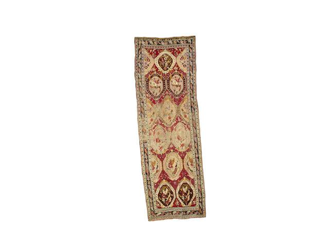 A Karabagh long rug South Caucasus, 356cm x 116cm