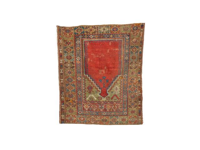 A Mudjur prayer rug Central Anatolia, 175cm x 149cm