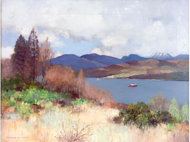 Francis Wilson (1876-1957) Garelochhead 49 x 64cm