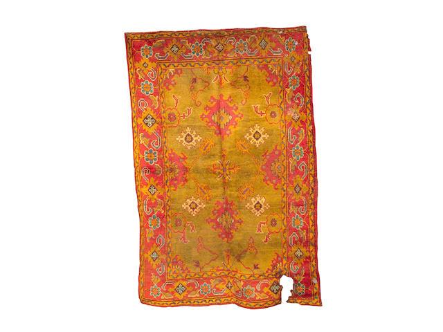 An Ushak carpet West Anatolia, 280cm x 188cm