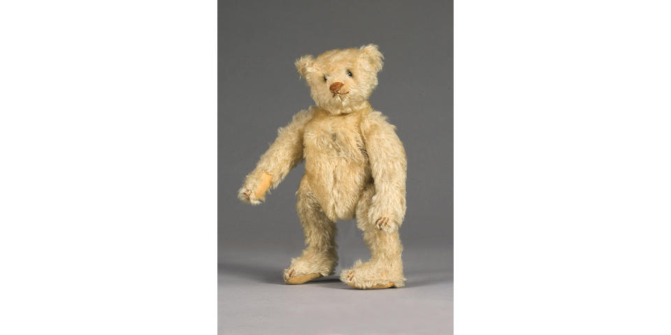 White Steiff Bear