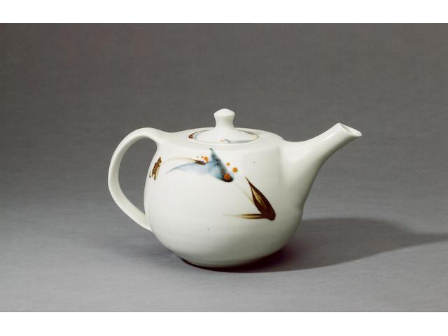 Richard Batterham a stoneware Vase with ash glaze Height 35cm
