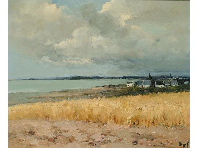 Marcel Dyf (French, 1899-1985) Golfe du Morbihan, Orage 18 x 21 1/2 in. (46 x 54.5cm.)