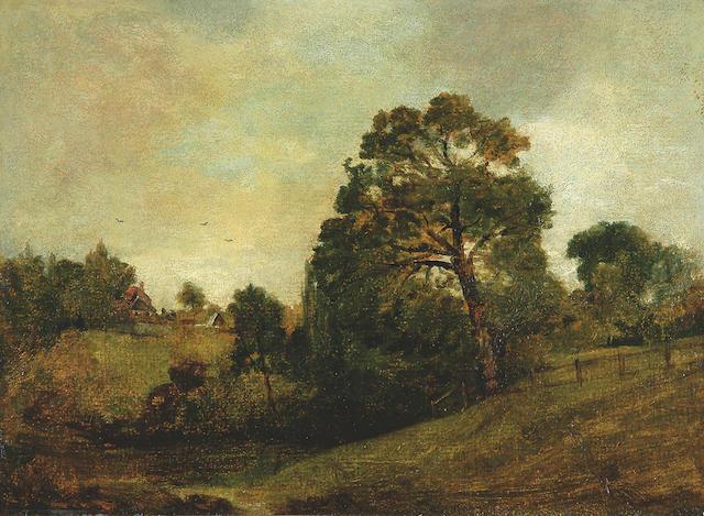 John Constable (1776-1837) 1776 View near Dedham, c.1803 32.5 x 44cm (12¾ x 17¼in).