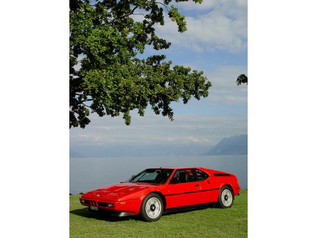 1980 BMW M1 Coupé WBS59910004301320