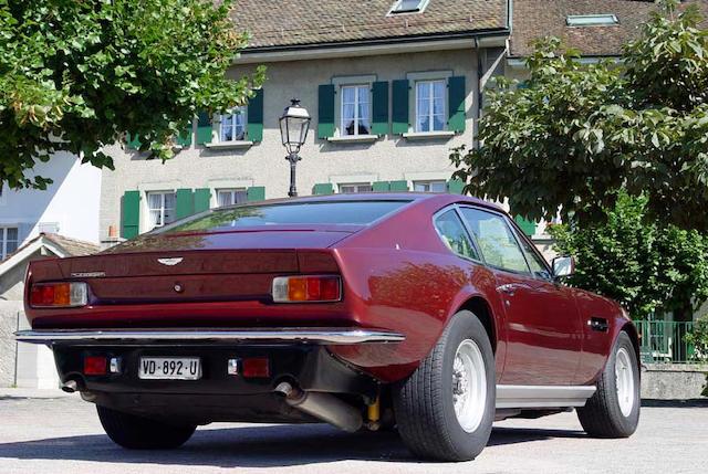 1985 Aston Martin V8 Vantage Series II  Chassis no. SCFCV81V5GTL12493