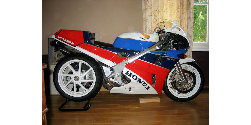1,050 kilometres from new, 1991 Honda VFR750R Type RC30