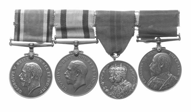 Four to Quartermaster and Major C.McDougall, Liverpool Regiment,