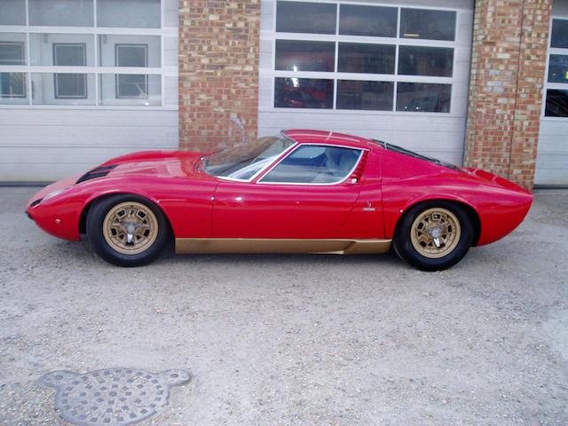 1969 Lamborghini Miura P400 'S' Berlinetta  Chassis no. 4076