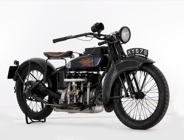 1924 Henderson 1,301cc 11.9hp Four-Cylinder De Luxe