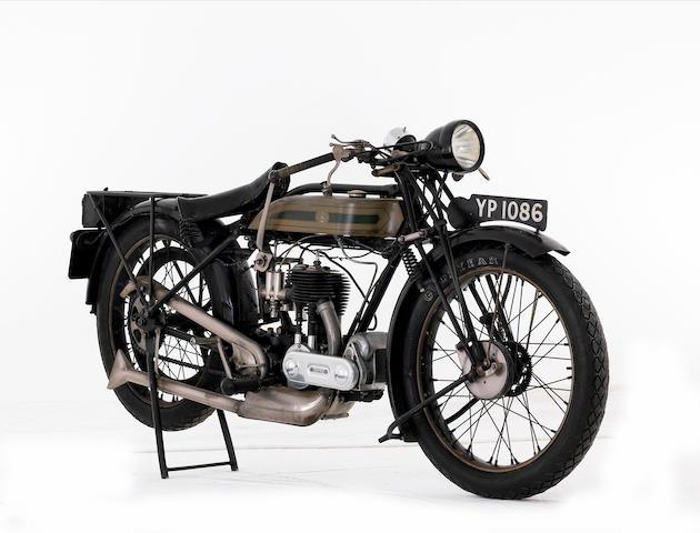 1926 Triumph 494cc Model Q