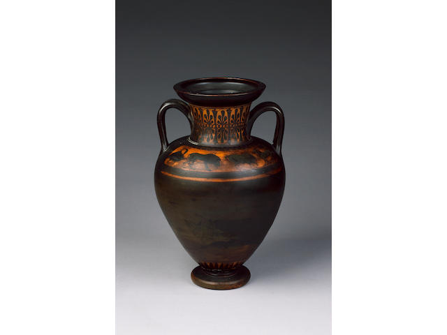 An Attic black-figure amphora