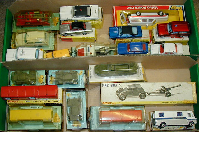 Dinky various vehicles