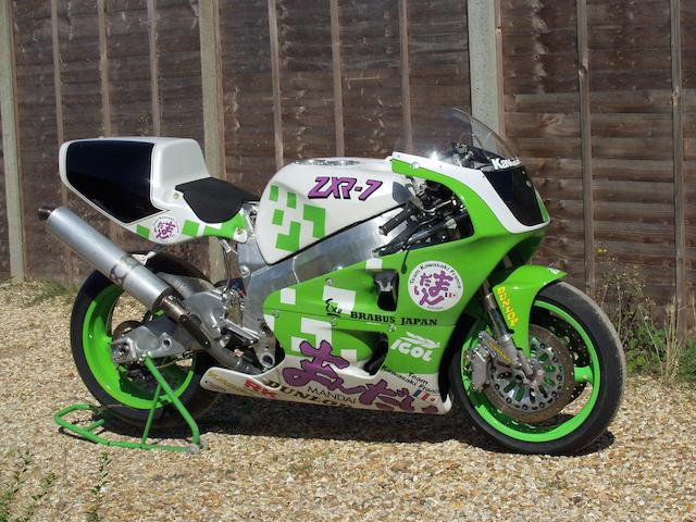 The ex-works, Kawasaki France, Suzuka 8 Hours,1992 Kawasaki ZXR-7 750cc Racing Motorcycle