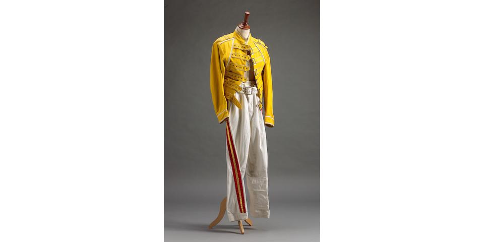 Freddie Mercury's stage costume, 1980s,
