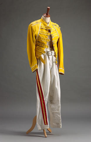 Freddie Mercury's stage costume, 1980s,