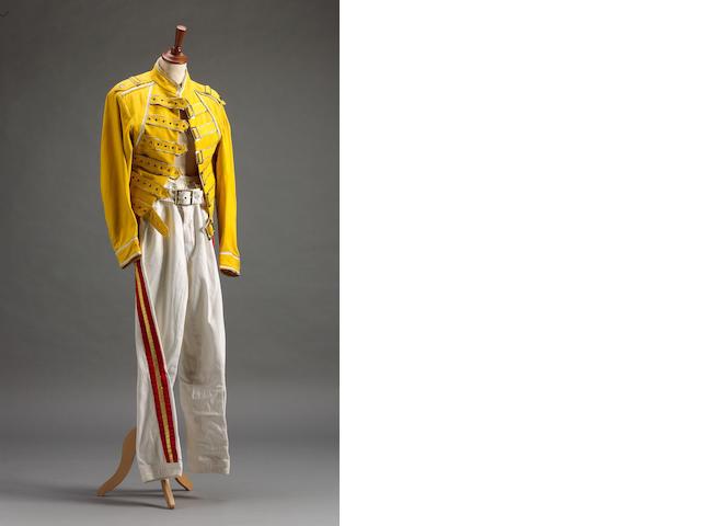 Freddie Mercury Costume & Letter