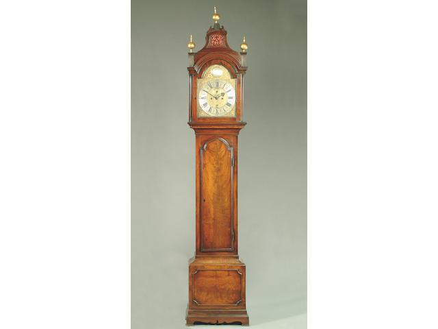 A George III mahogany longcase clock, Daniel Kedden, London