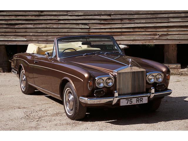 1975 Rolls-Royce Corniche Convertible  Chassis no. DRH 21323