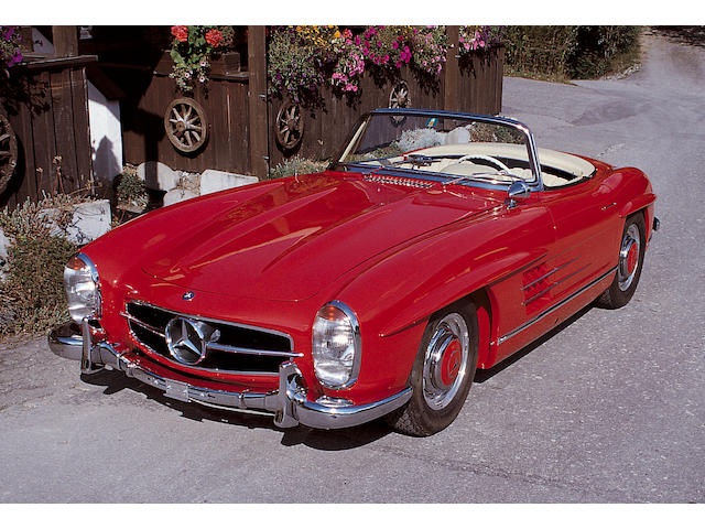1957 Mercedes-Benz 300SL Roadster 1980427500415