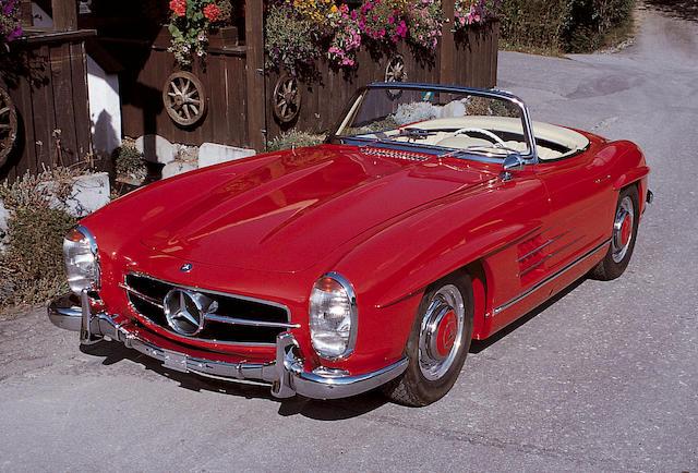 1957 Mercedes-Benz 300SL Roadster 1980427500415