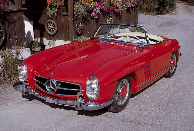 1957 Mercedes-Benz 300SL Roadster  Chassis no. 1980427500415