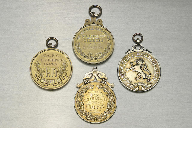 English Cup Winners medal 1894,