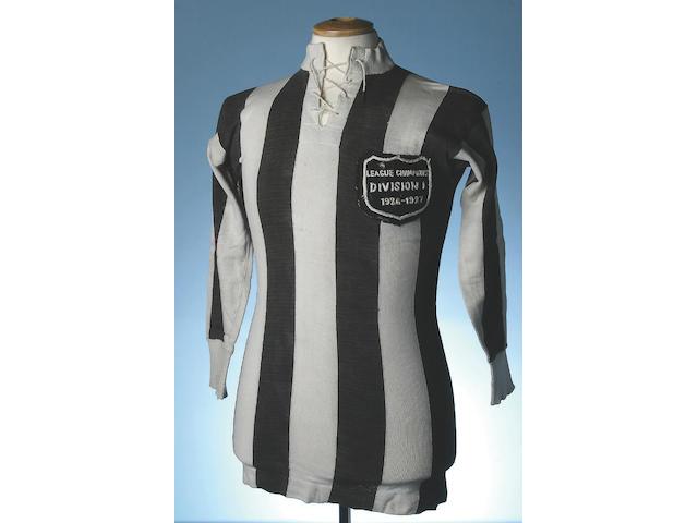 Hughie Gallacher 1926/7 Championship Shirt.