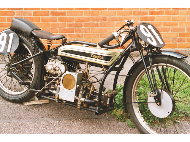 c.1929 Douglas 600cc SW6 Speed Model