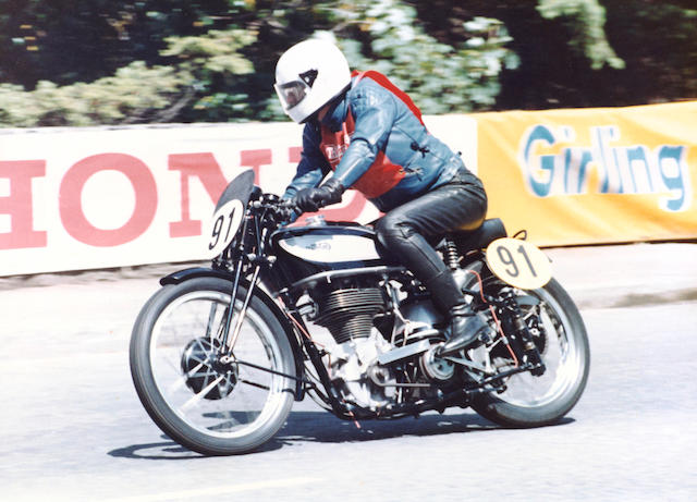 ex-Ron Harris, Senior Manx Grand Prix,1937 Norton 490cc Manx Specification Model 30