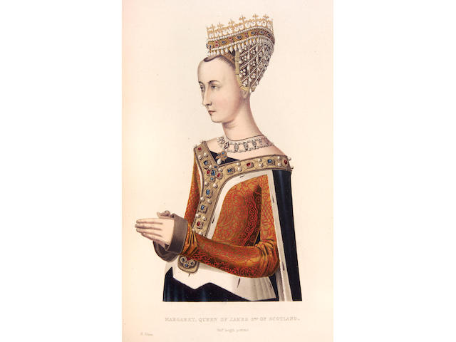 SHAW (Henry) Dresses and decorations of the Middle Ages