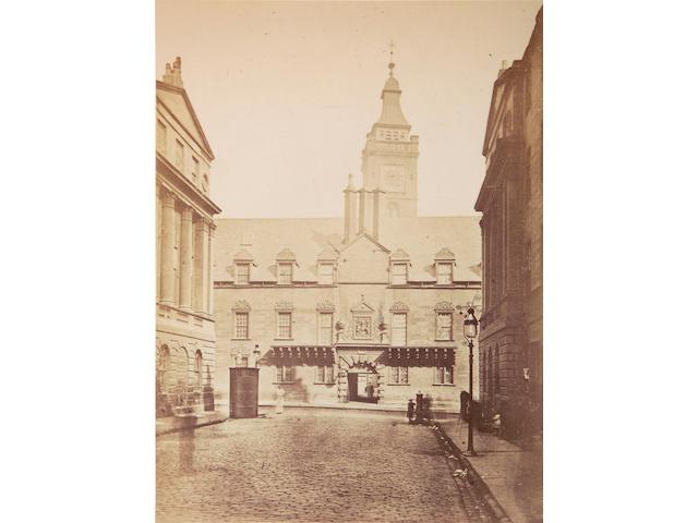 GLASGOW [ANNAN (Thomas)] Photographs of Glasgow College