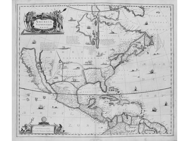 JANSSONIUS (JOANNES) Atlas Contractus, 2 vol.