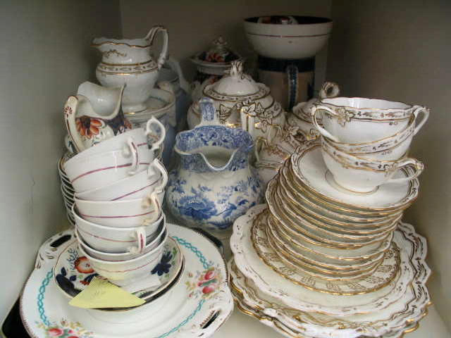 A quantity of ceramics to include two part Tea Services,