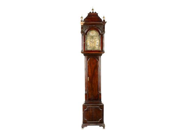 An 18th century Scottish mahogany longcase clock John Hill, Montrose