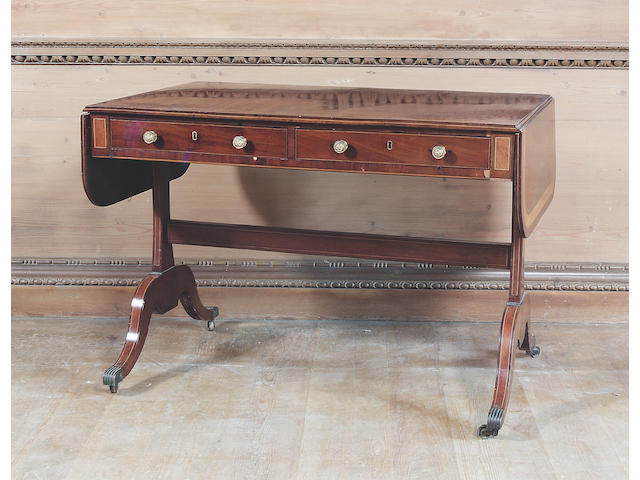 A 19th Century sofa table