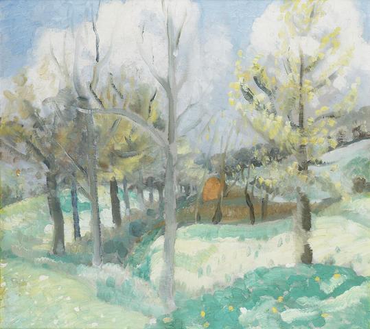 Winifred Nicholson (1893-1981) Dimchurch 56 x 61 cm. (22 x 24 in.)