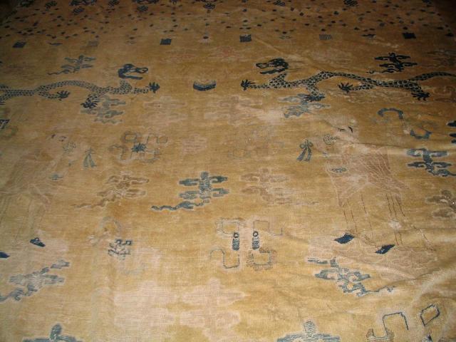 A Chinese carpet 440cm x 314cm