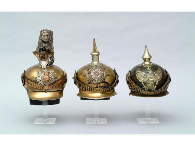 A Prussian other rank's Model 1905 Dragoon helmet