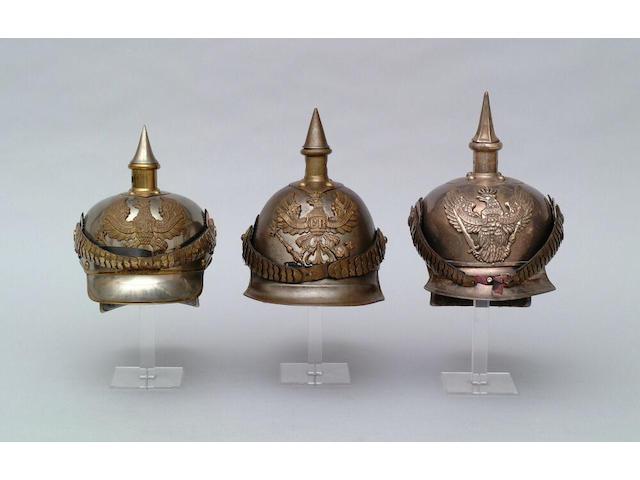 A Prussian other rank's cuirassier helmet