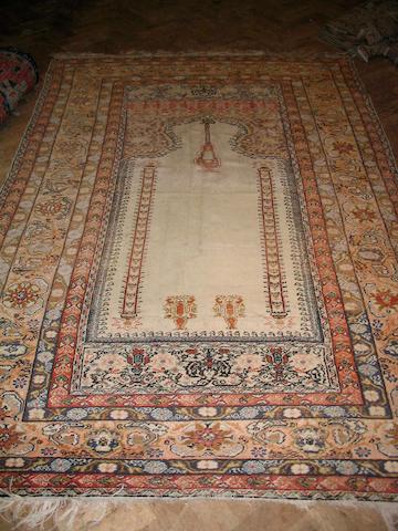 A Pandirma prayer rug 211cm x 145cm