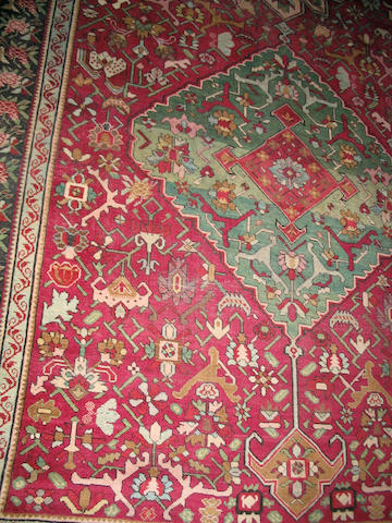 A Karabagh gallery carpet South Caucasus, 572cm x 203cm