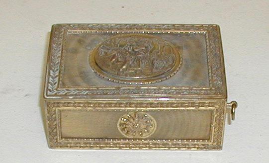 A singing bird box,