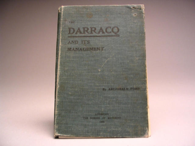 'The Darracq and it's Management', by Archibald Ford, 1905,